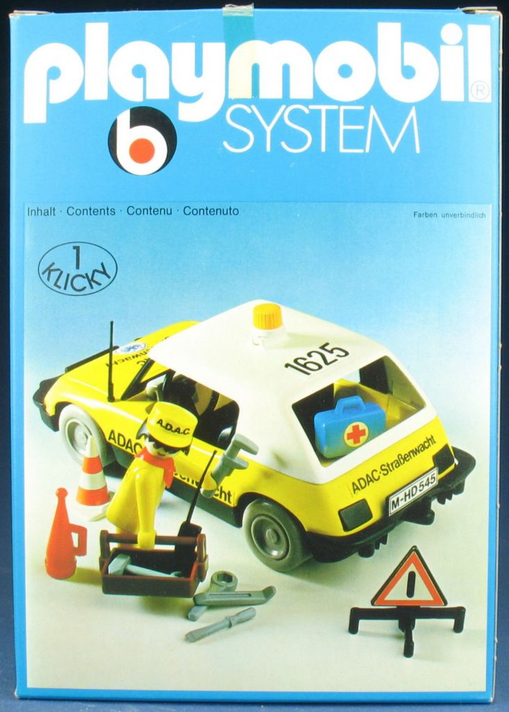 Playmobil 3219s2 - Assistance car - ADAC - Box