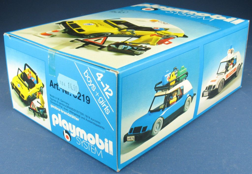 Playmobil 3219s2 - Assistance car - ADAC - Back