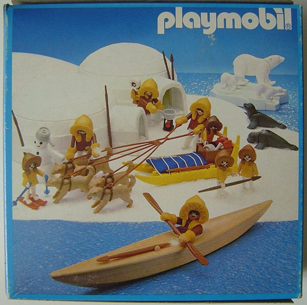 Playmobil 3248v1 - Polar Bears - Back
