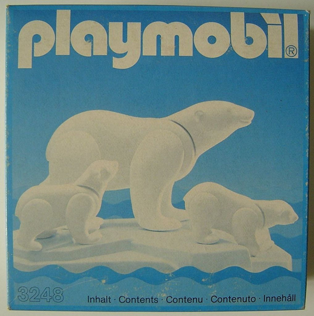 Playmobil 3248v1 - Polar Bears - Box