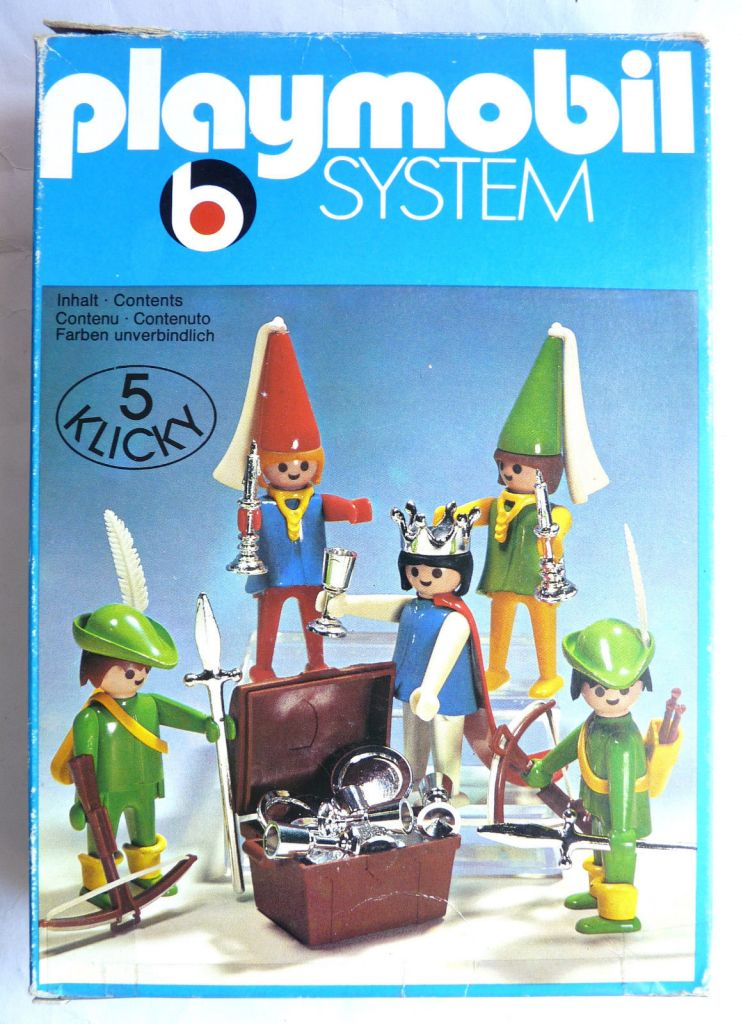 Playmobil 3263s1 - Archers, Maidens & Queen - Box