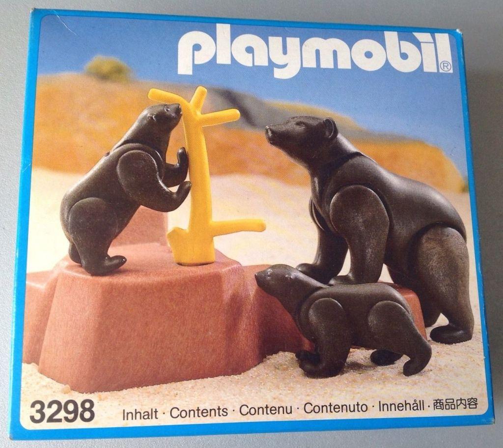 Playmobil 3298 - Bears family - Box