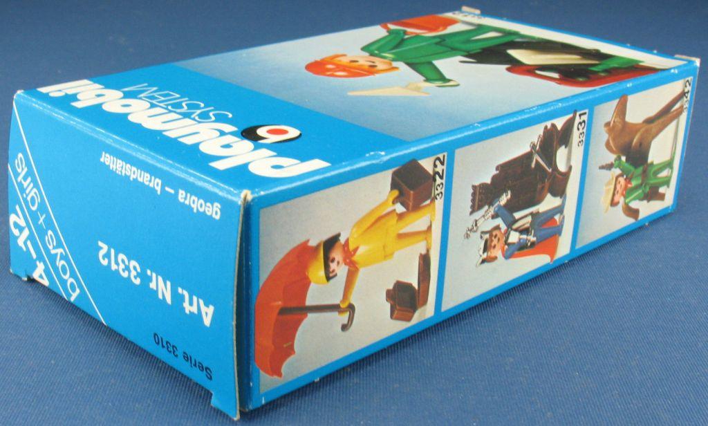 Playmobil 3312v1 - Construction Worker - Back
