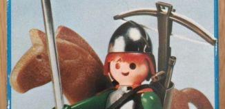Playmobil - 3333v1 - soldier and Horse