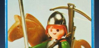 Playmobil - 3333v2 - soldier and horse