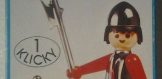 Playmobil - 3334v2 - Soldier with treasure