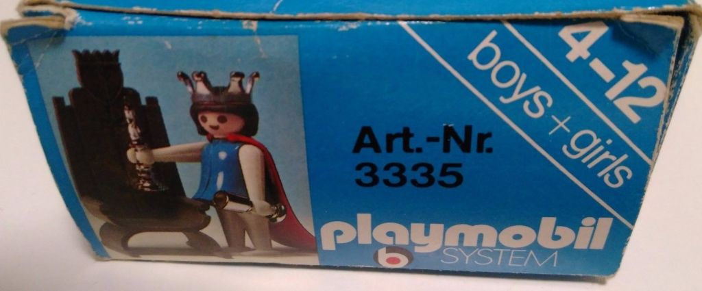 Playmobil 3335s1 - Queen - Box