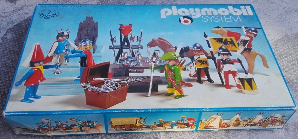 Playmobil 3405 - Knights Super Set - Box
