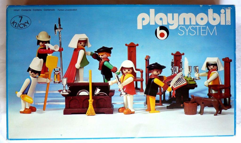 Playmobil 3410 - Royal Attendants - Box