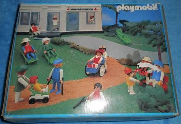 Playmobil 3459v1 - Surgical unit - Box