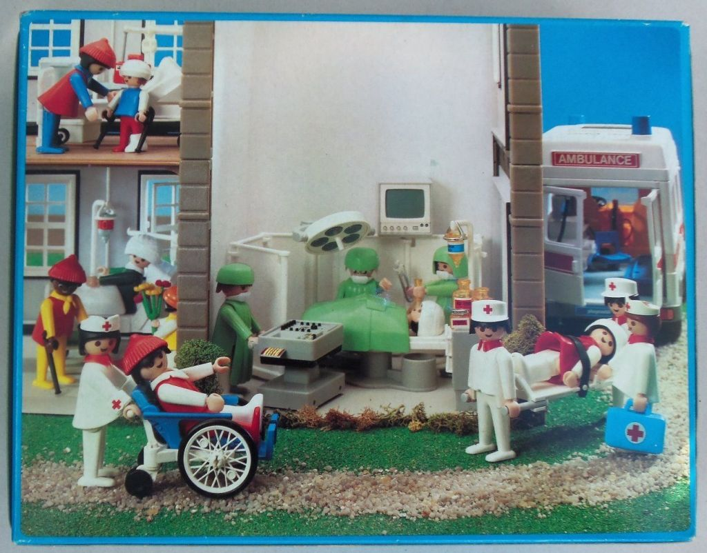 Playmobil 3459v2 - Operating Room - Box
