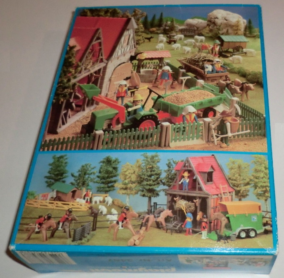 Playmobil 3487 - Water Well And Fool. - Back