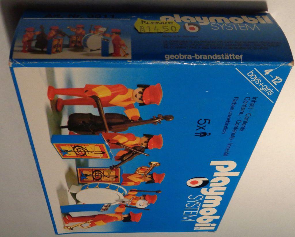 Playmobil 3511v2 - Circus band - Box