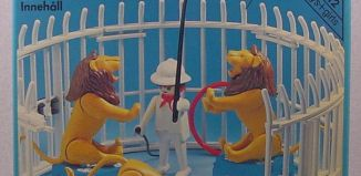 Playmobil - 3517s1v1 - Lions, Cage and Trainer