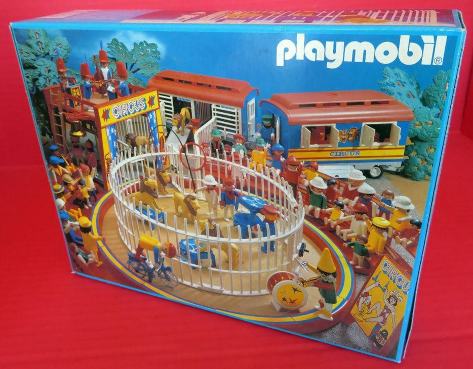 Playmobil 3517s1v3 - Lions, Cage and Trainer - Back
