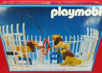 Playmobil - 3517s1v3 - Lions, Cage and Trainer