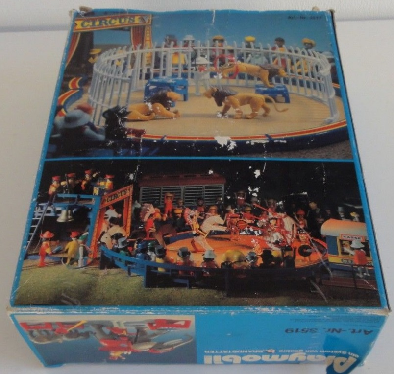 Playmobil 3519 - Circus Elephants & Trainers - Back