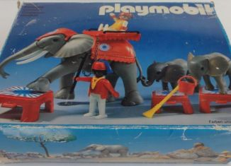 Playmobil - 3519 - Circus Elephants & Trainers