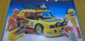 Playmobil - 3524v5 - Yellow Rally Car