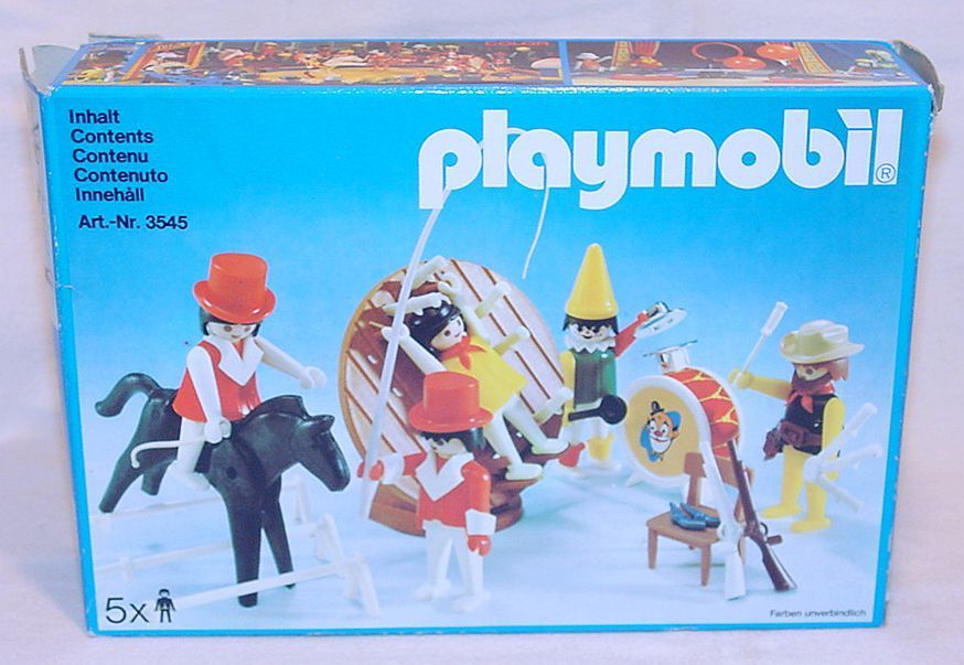 Playmobil 3545v1 - Circus artists - Box