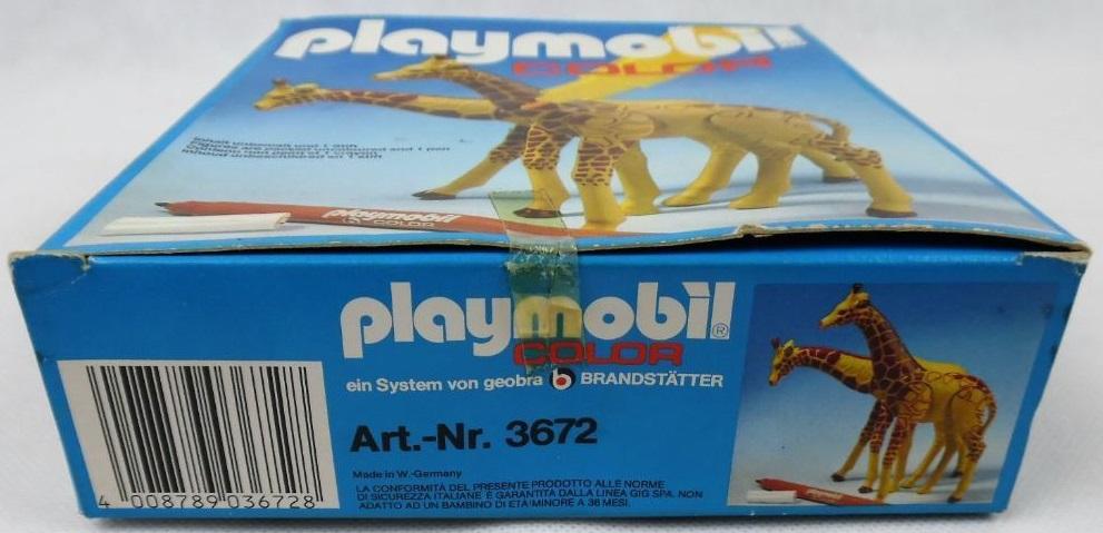 Playmobil 3672v1 - 2 Giraffes - Box