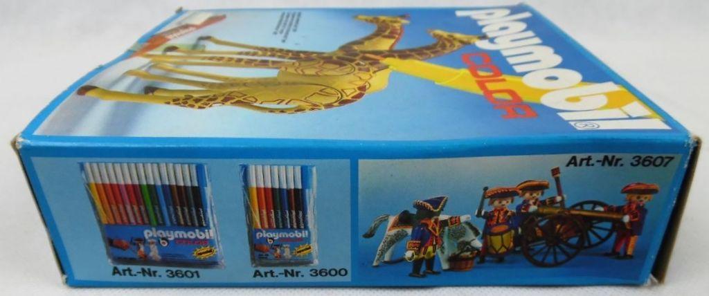 Playmobil 3672v1 - 2 Giraffes - Back