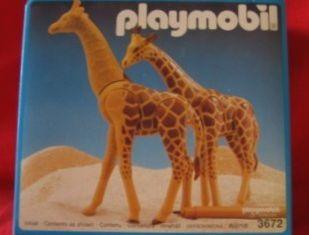 Playmobil - 3672v3 - 2 Giraffes