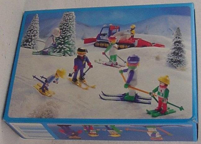 Playmobil 3684 - Skiing Family - Box