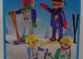 Playmobil - 3684 - Skiing Family