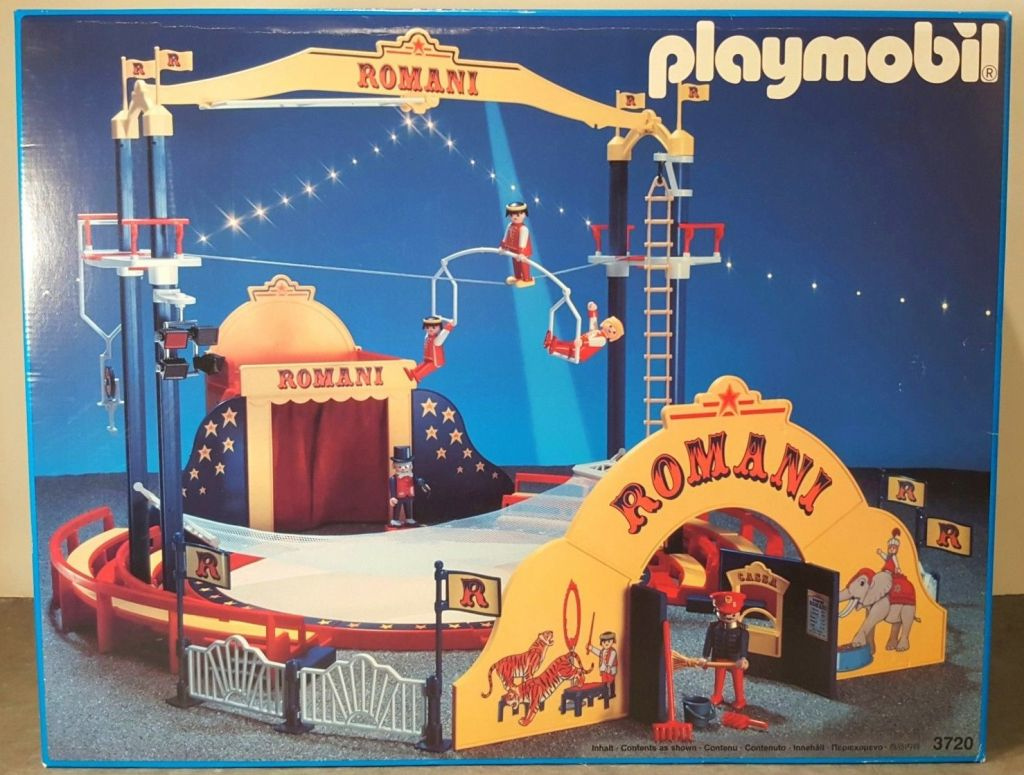 Playmobil 3720 - Romani Circus - Box