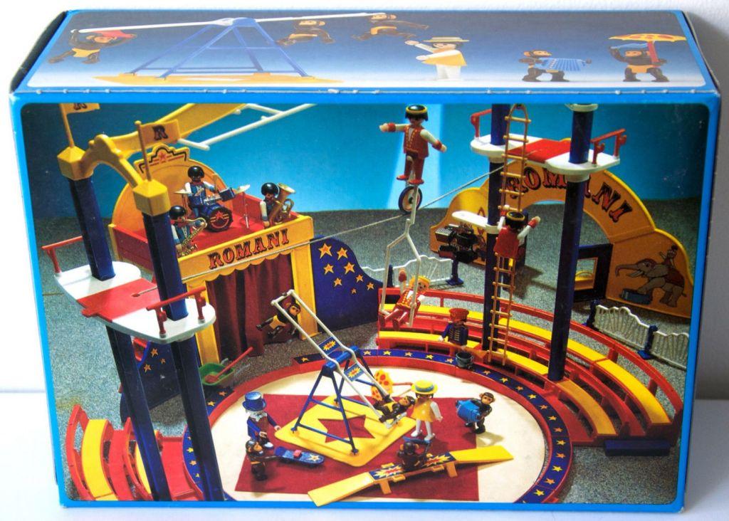 Playmobil 3726 - Performing Chimps - Box