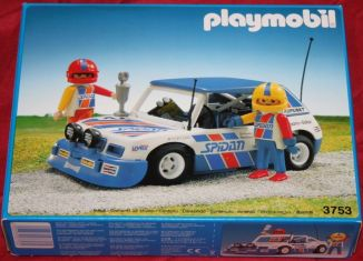 Playmobil - 3753 - Blue Rally Car