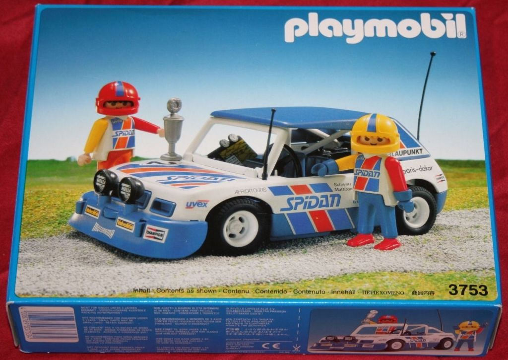 Playmobil Vintage Race Car