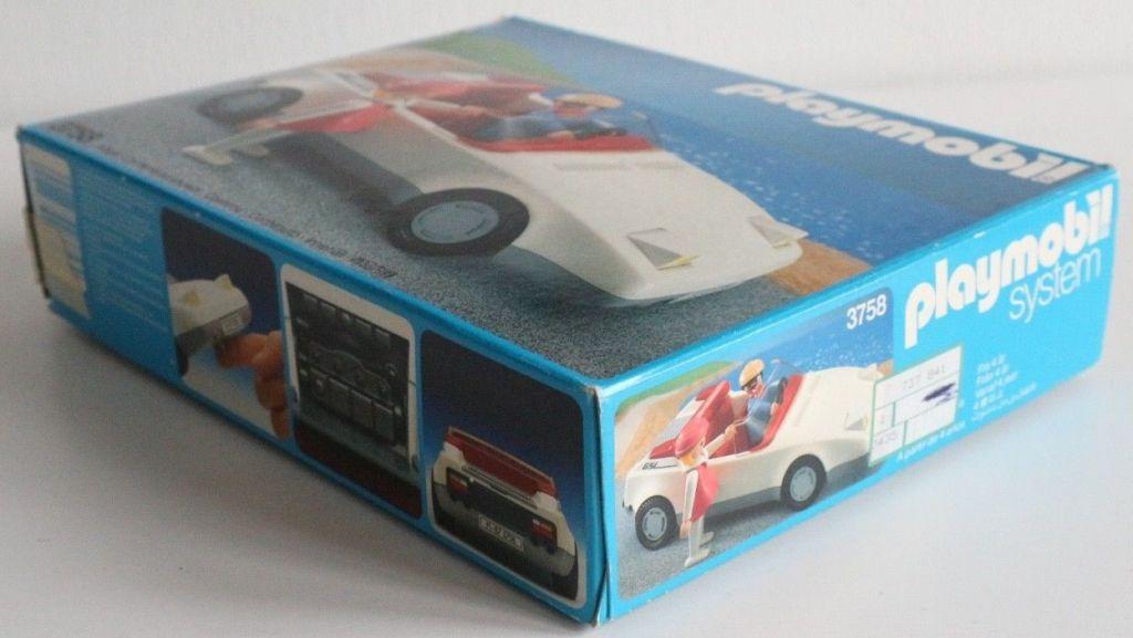 Playmobil 3758 - White Sportscar - Box
