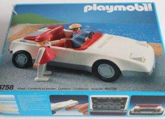 Playmobil - 3758 - White Sportscar