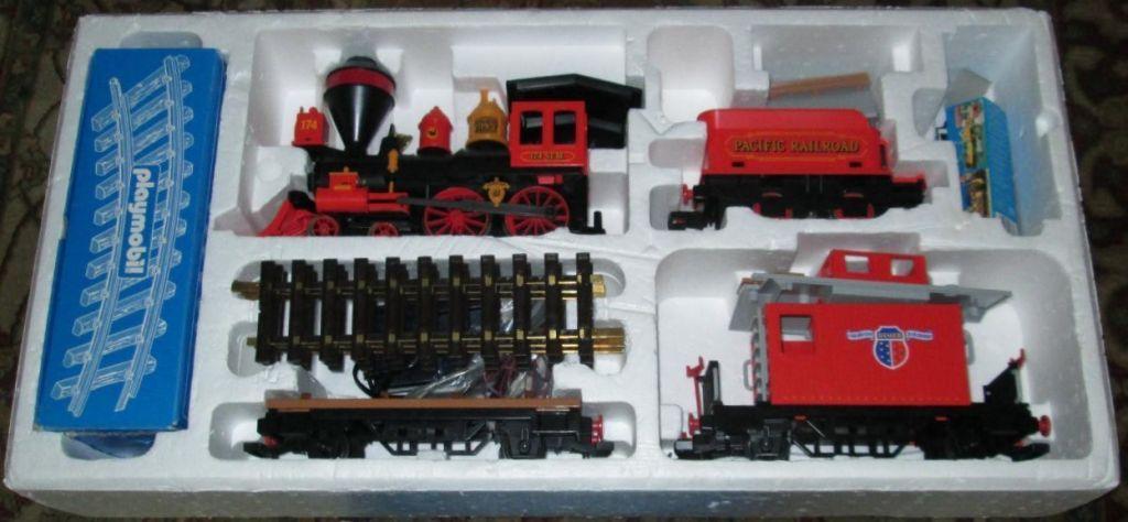 Playmobil 4034v1 - Large Western Train Set - Back