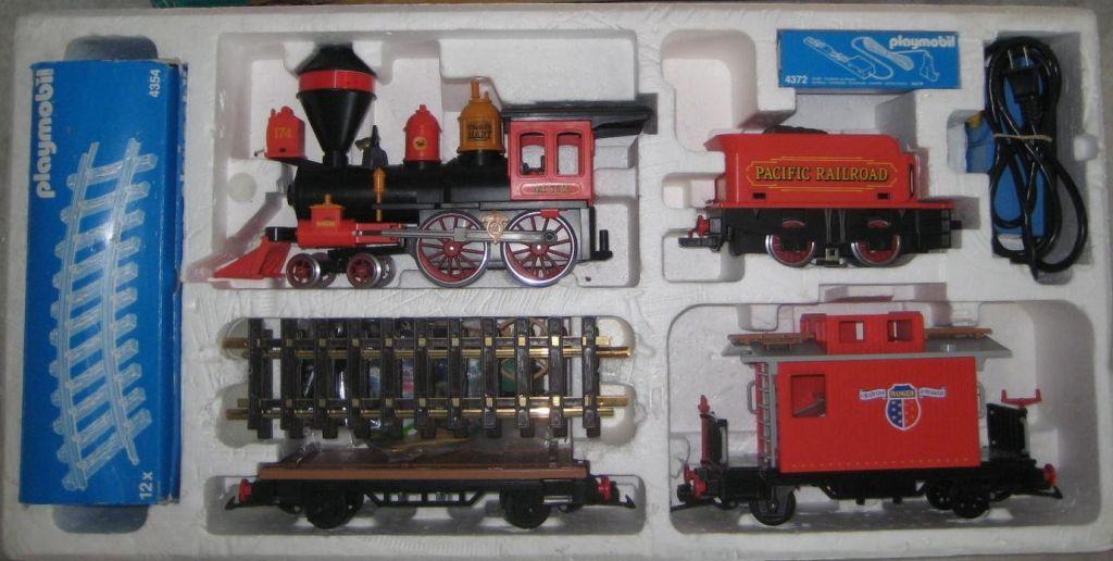 Playmobil 4034v2 - Large Western Train Set - Back