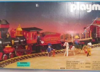 Playmobil - 4034v2 - Large Western Train Set