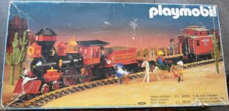 Playmobil - 4034v3 - Large Western Train Set