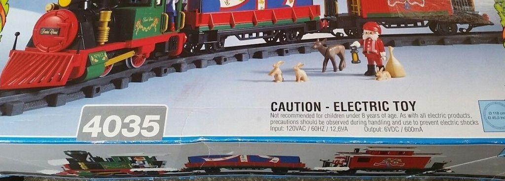 Playmobil 4035 - Christmas Train - Box