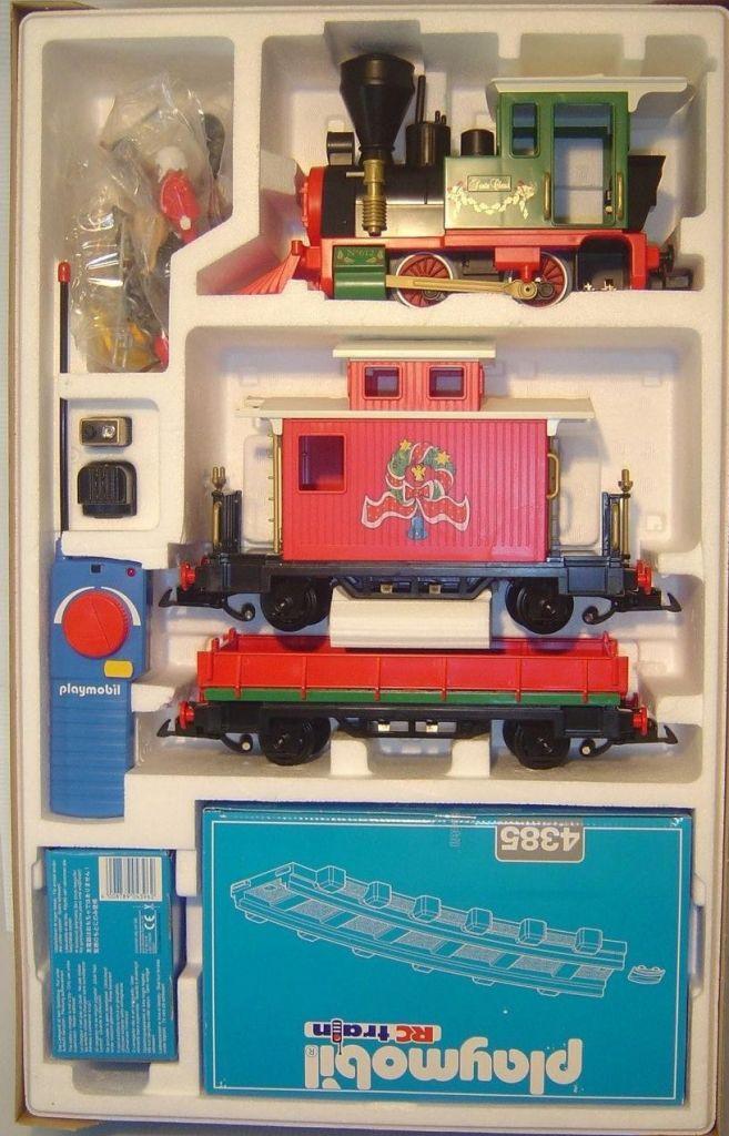 Playmobil 4035 - Christmas Train - Back