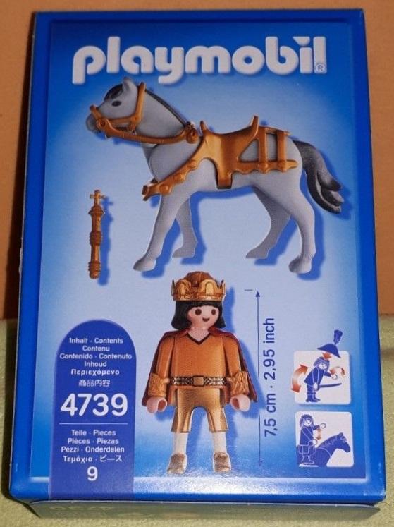 Playmobil 4739 - Bamberger Knight - Back