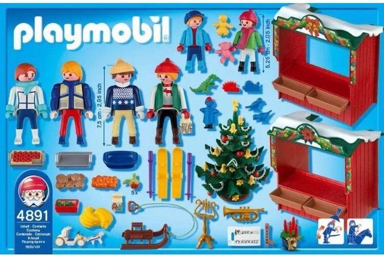 Playmobil 4891 - Christmas Market - Box
