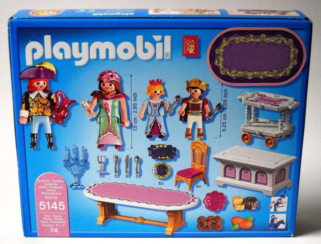 Playmobil 5145-usa - Royal Banquet Room - Back