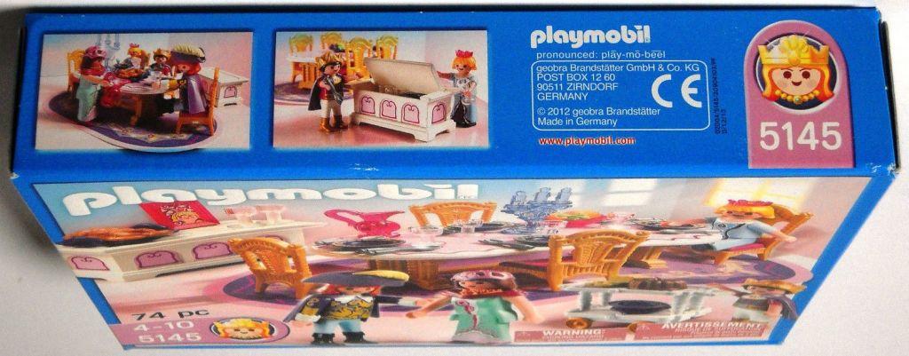 Playmobil 5145-usa - Royal Banquet Room - Box