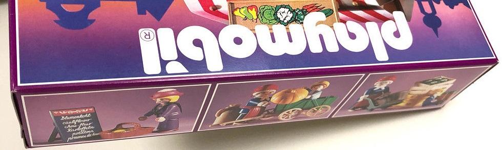 Playmobil 5341 - Produce Stand - Box