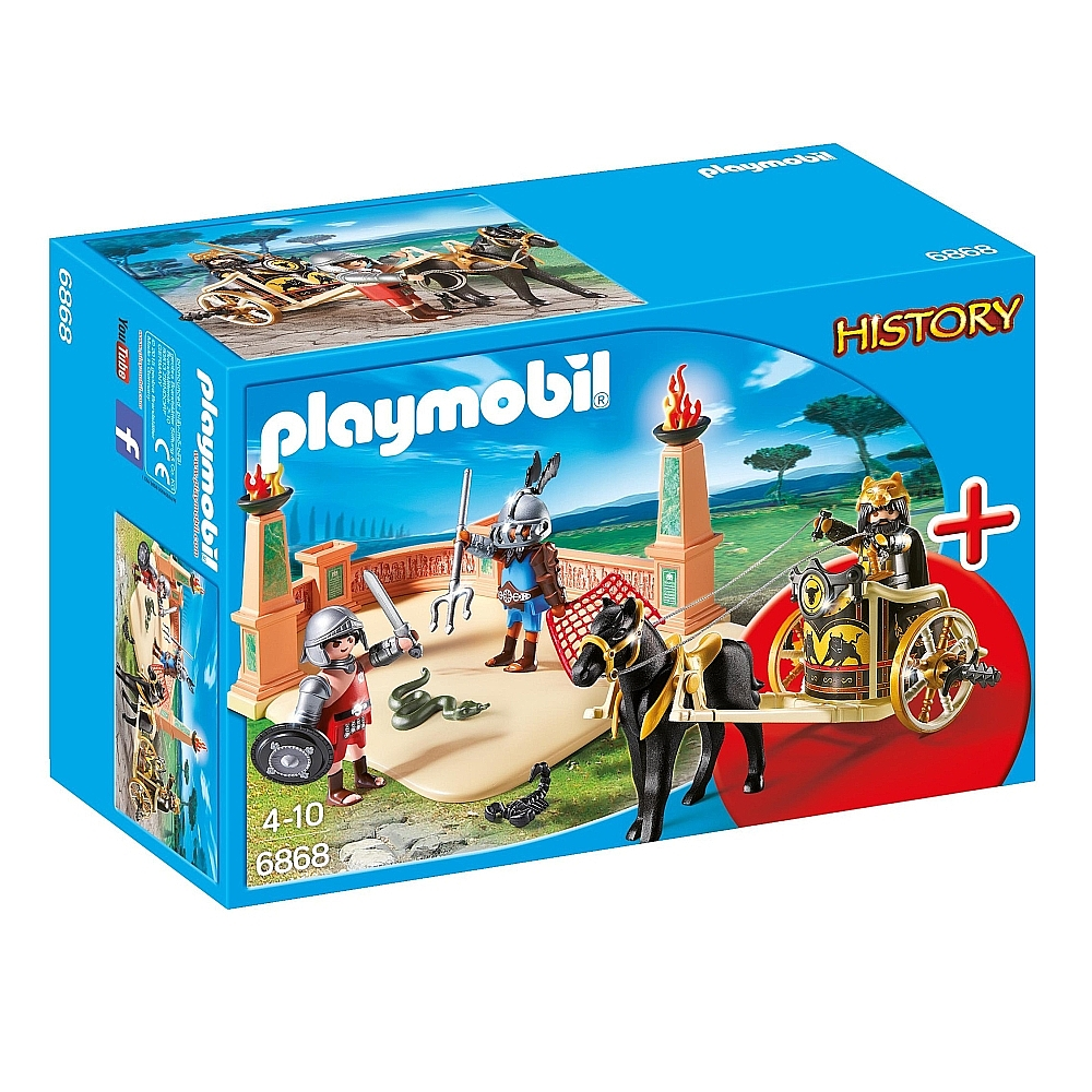 Playmobil 6868 - Gladiators with chariot - Box