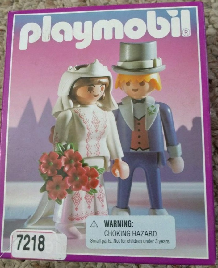 Playmobil 7218 - Victorian Bride and Groom - Box