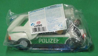 Playmobil 7690 - Police Patrol Car - Back