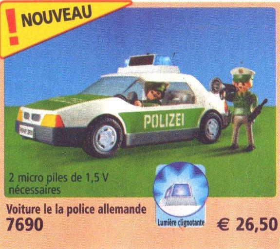 Playmobil 7690 - Police Patrol Car - Box